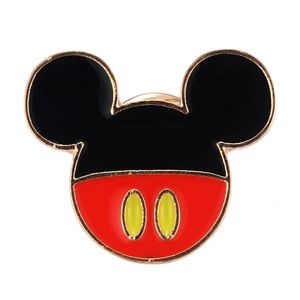 Mickey Mouse Iconic Head Pin Brooch
